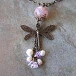 Mystic Dragonfly Necklace
